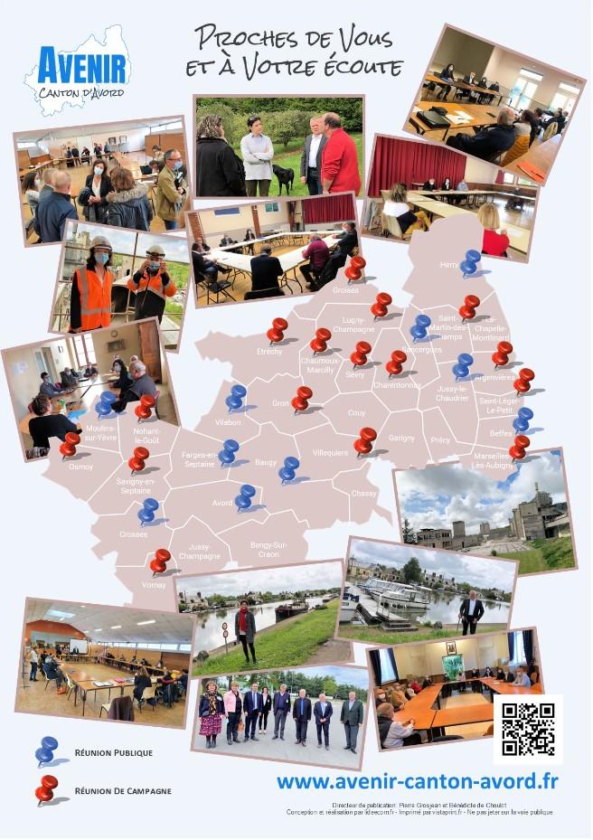 Campagne Avenir pour le Canton d'Avord